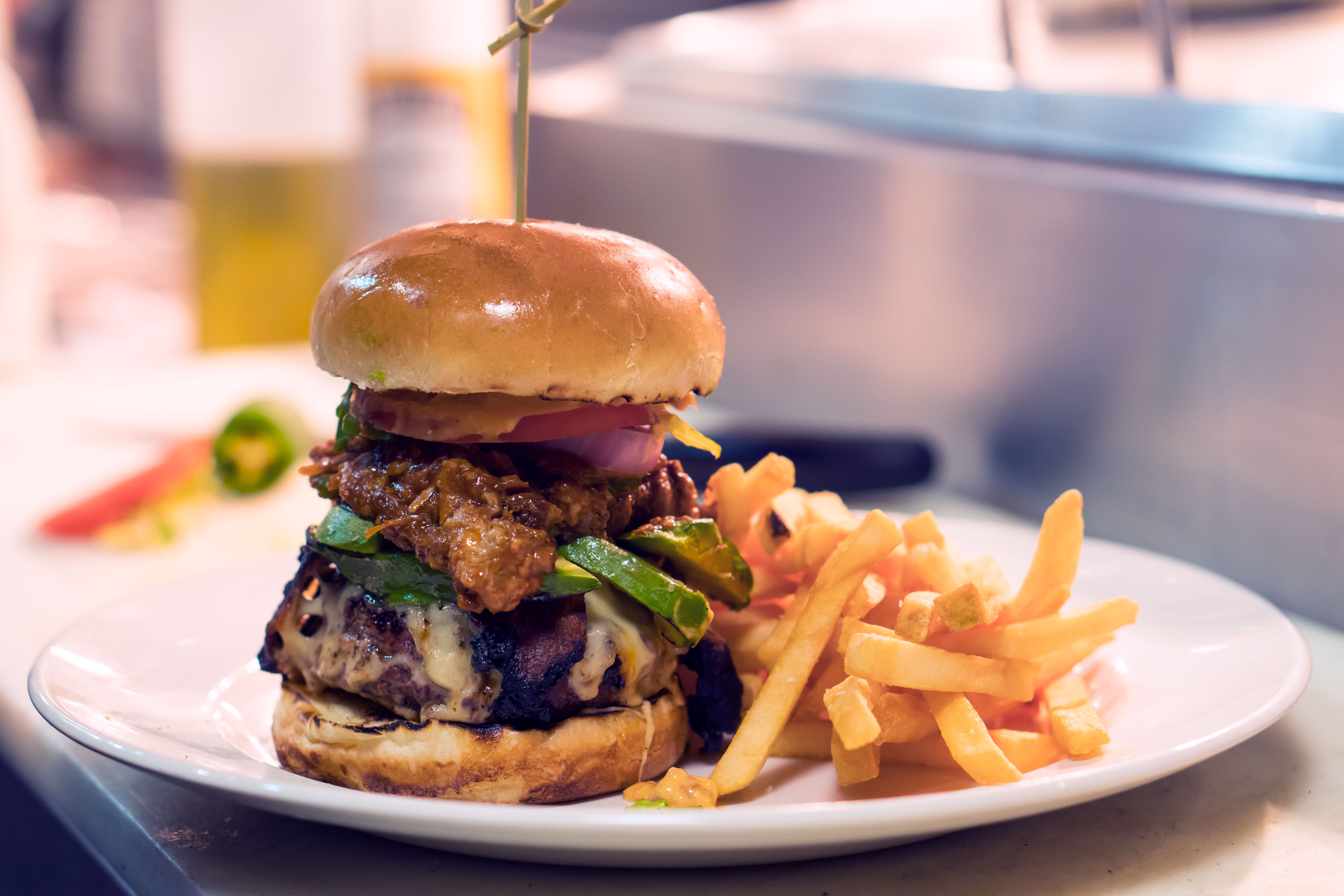 lunch burger